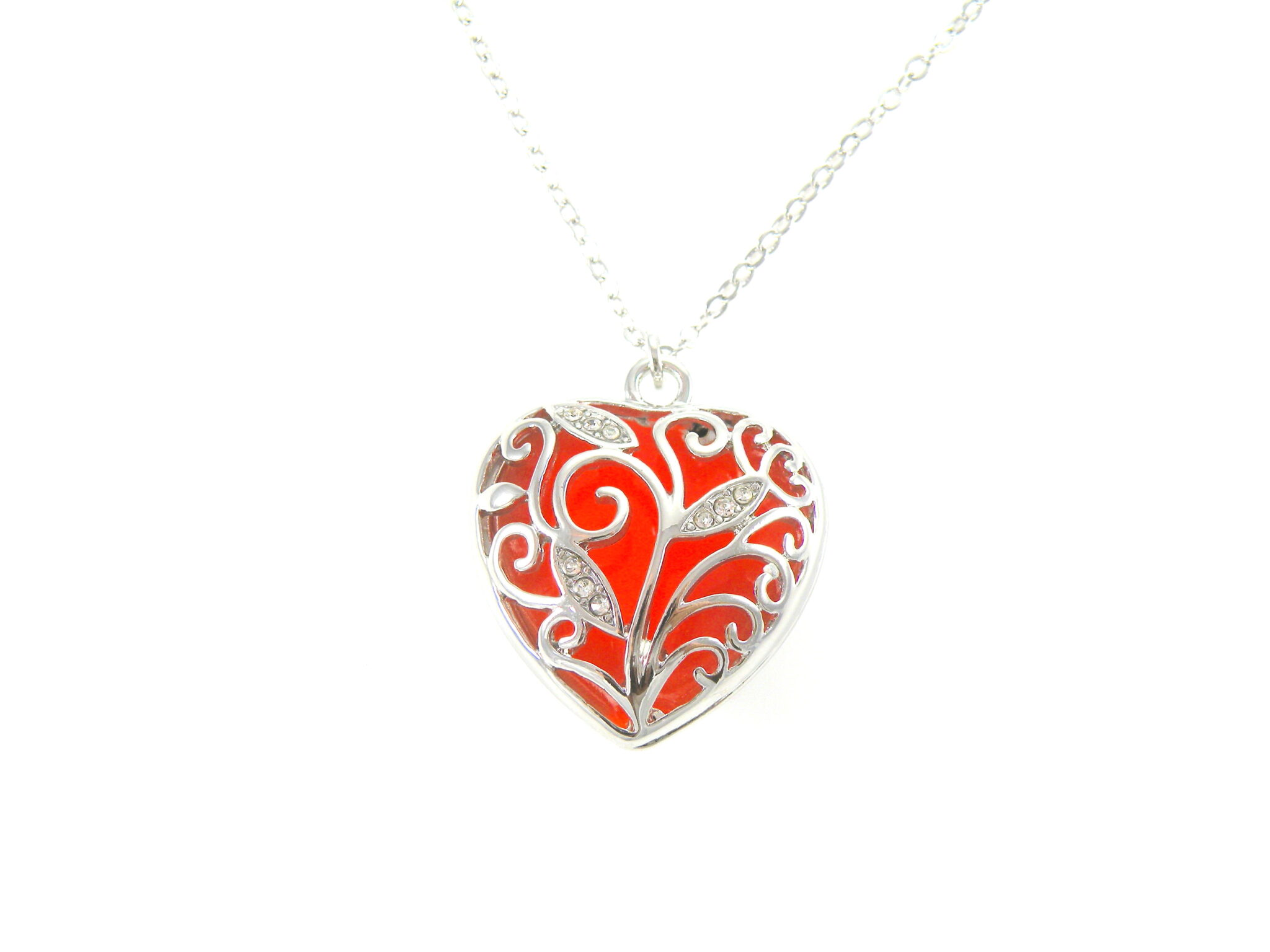 heart ruby full click ceramic loheed z white vintage to item expand in necklace red candace
