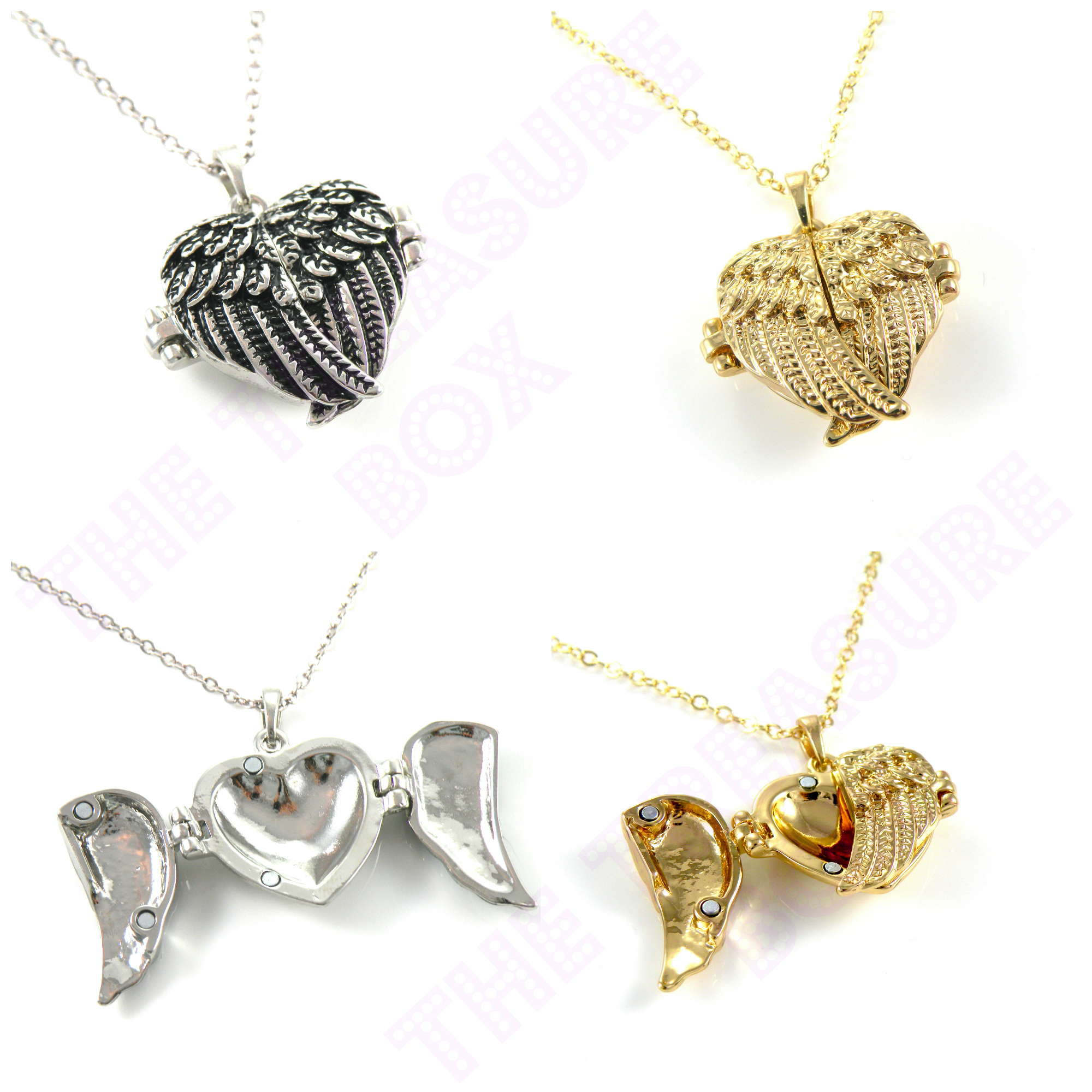 diamond heart shipping jewelry overstock tdw today photo silver miadora pendant free locket watches necklace h i product
